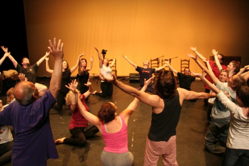 19.5.12@La Rinconada - everybody up its arms