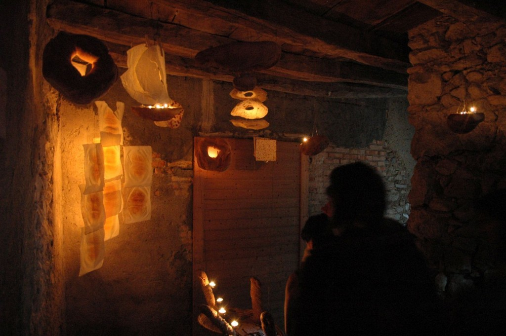 Installazioni di pane